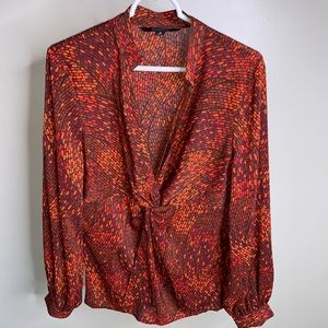 Multi colored women's blouse